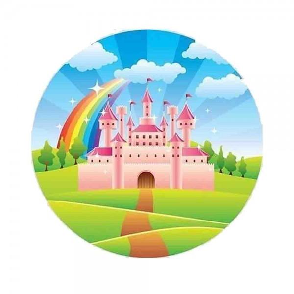 Tortenaufleger Prinzessinschloss