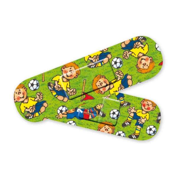 Packung mit 10 Fußballpflastern