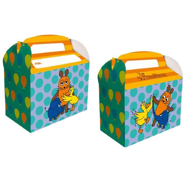 Süße Geschekeboxen für Mitgebsel zum Thema Die Maus