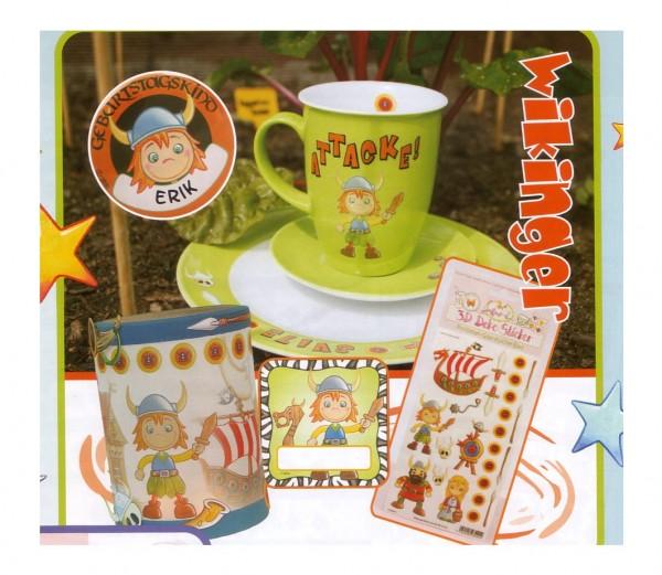 Porzellan-Sticker Wikinger