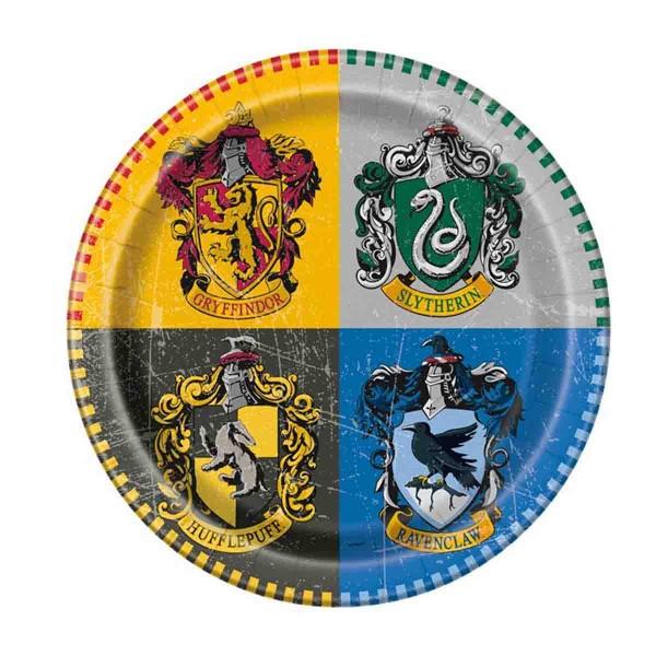 Magische Teller zu der Harry Potter Serie
