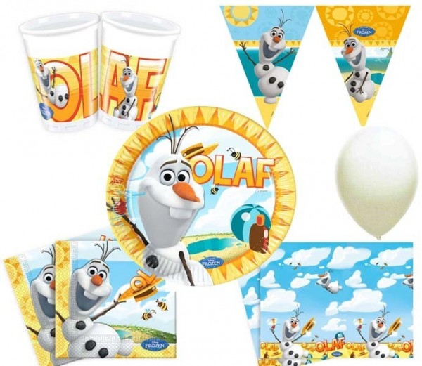 Partyset Olaf 45tlg.