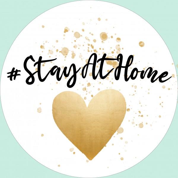 Essbarer Tortenaufleger #StayAtHome
