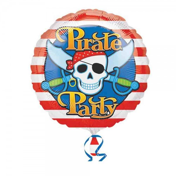 Folienballon Piraten-Party