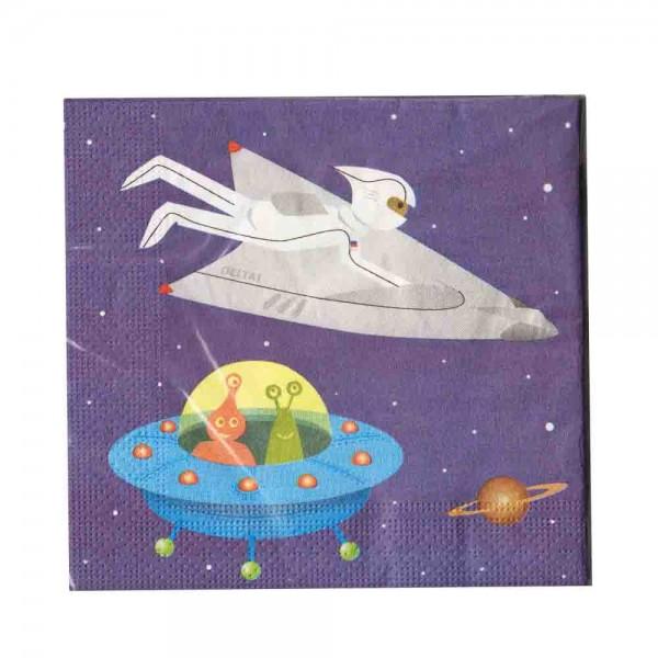 Weltraum-Servietten