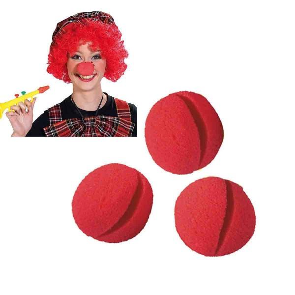 Clownsnase Schaumstoff 1St.