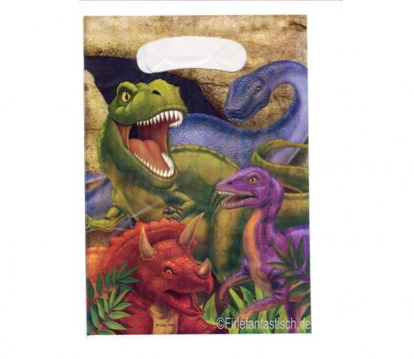 Geschenktüten für den coolen Dinogeburtstag