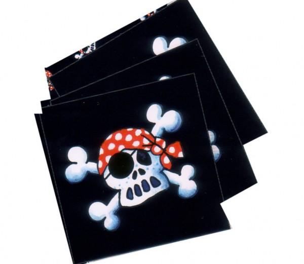 Piratenparty-Servietten