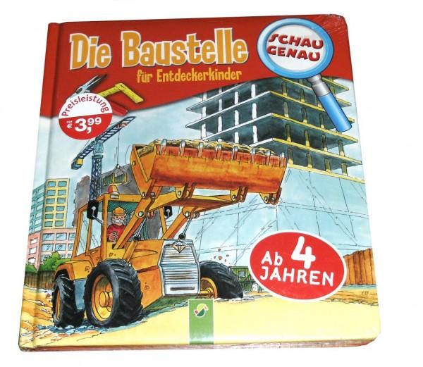 Wissensbuch XXL Die Baustelle - Buch für Entdeckerkinder