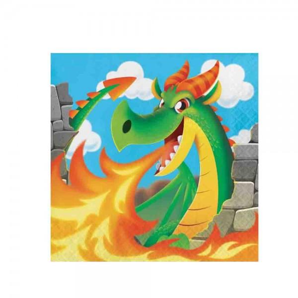 Servietten für den Kindergeburtstag Drachen