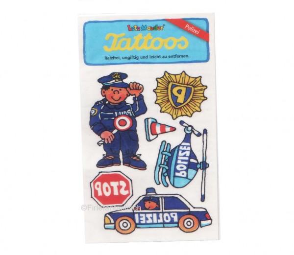 Polizei-Tattoo
