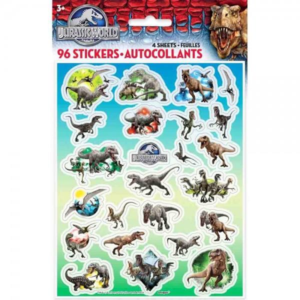 Sticker für den Kindergeburtstag Dinosaurier