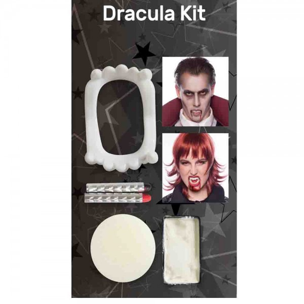 Make-up Halloween Dracula