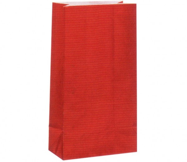 Geschenktüten Rot 12St.