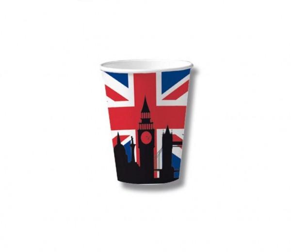 England-Becher 10 Stück