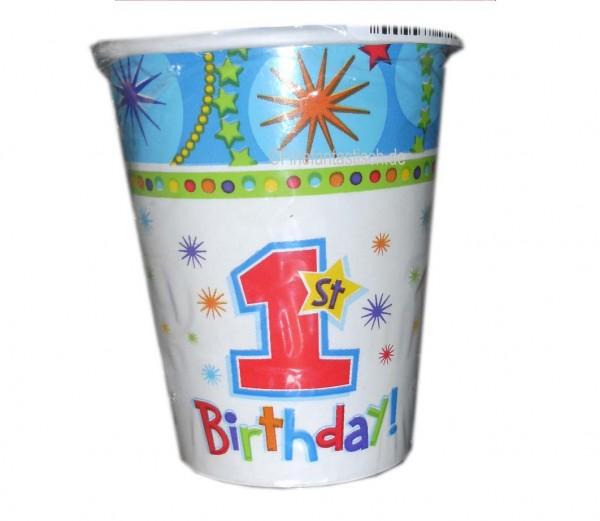 Jungen-Becher 1.Geburtstag