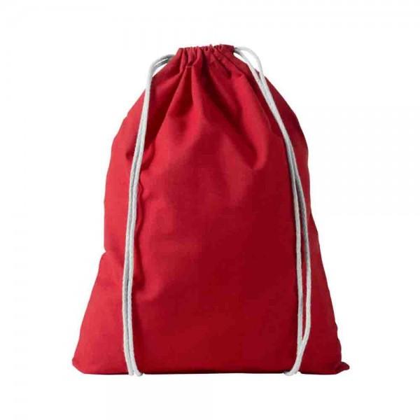Baumwollrucksack Rot zum Bemalen und Gestalten