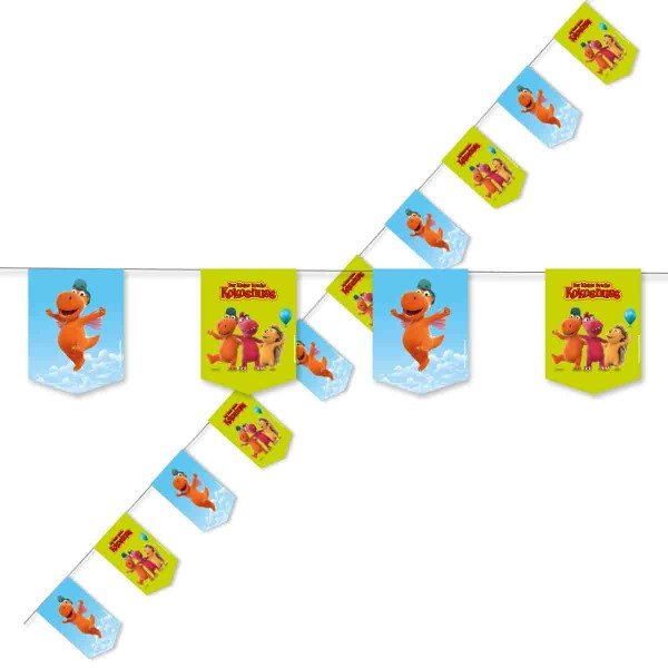 Partykette zum Thema Drache Kokosnuss Geburtstag