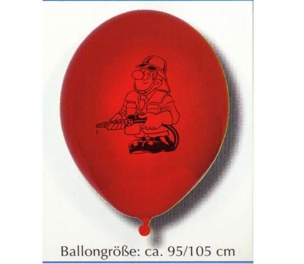 Feuerwehr-Luftballons 100St