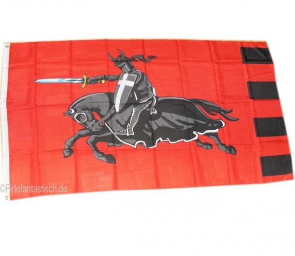 Flagge Schwarzer Ritter