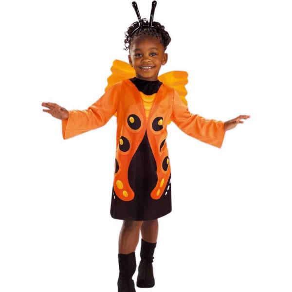Kostüm süßer Schmetterling Größe 116
