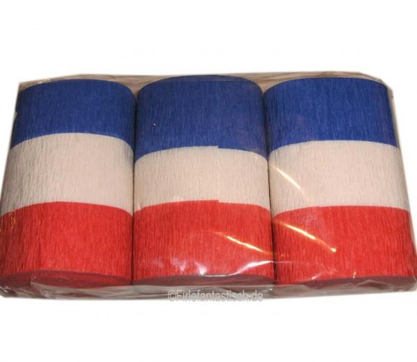 Frankreich Kreppband 3Rollen