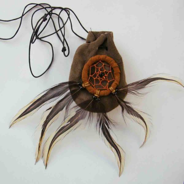 Indianer-Traumfängerbeutelchen