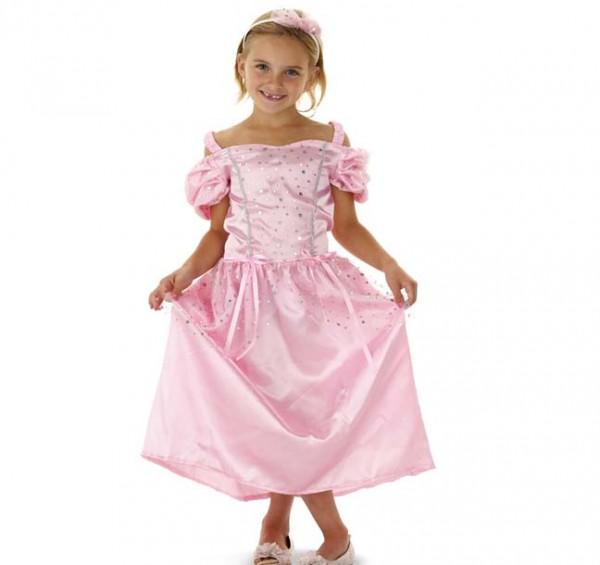 Prinzessin-Kleid mit Haarreifen