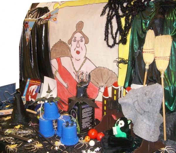 Verkauf Zauberer-Verkleidungskiste in der Kunststoffbox