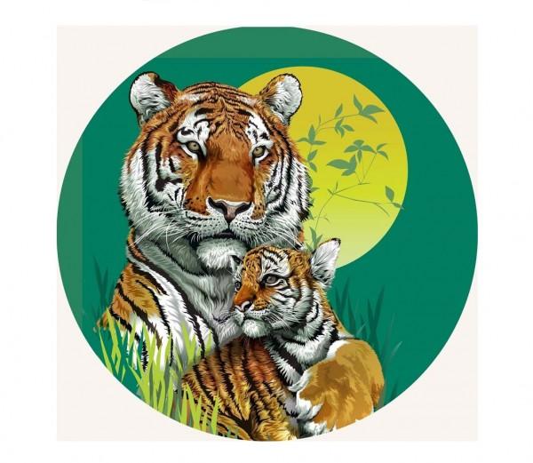 Tortenaufleger Tiger