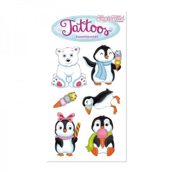 Tattoo Pinguin