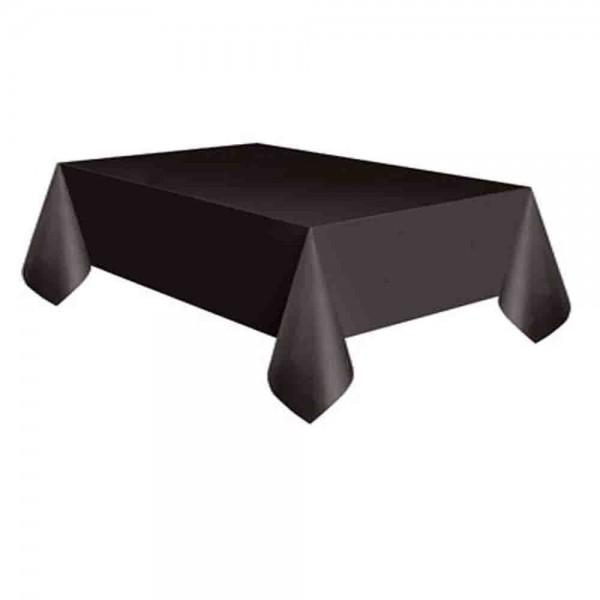 Abwaschbare schwarze Tischdecke