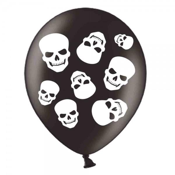 Gruseliga Ballons für die Halloweenparty