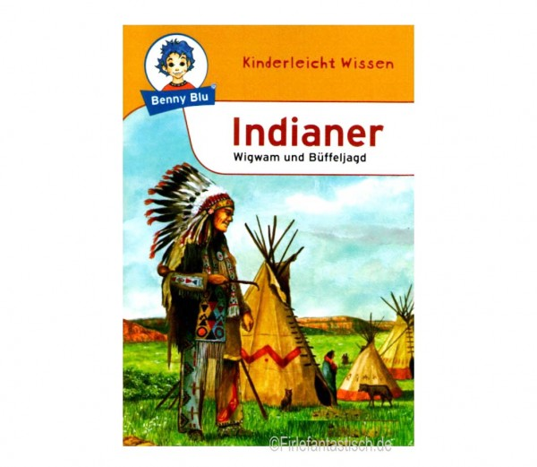 Wissensbuch-Indianer