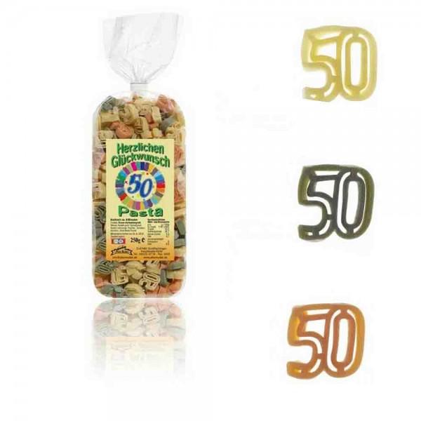 50. Geburtstag-Nudeln