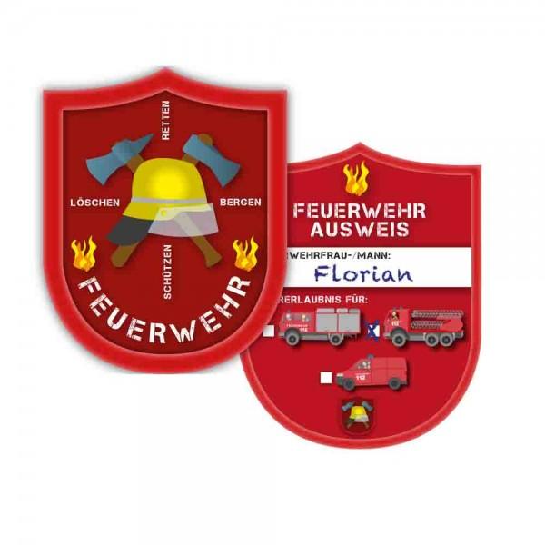 Feuerwehr-Ausweis 6St.