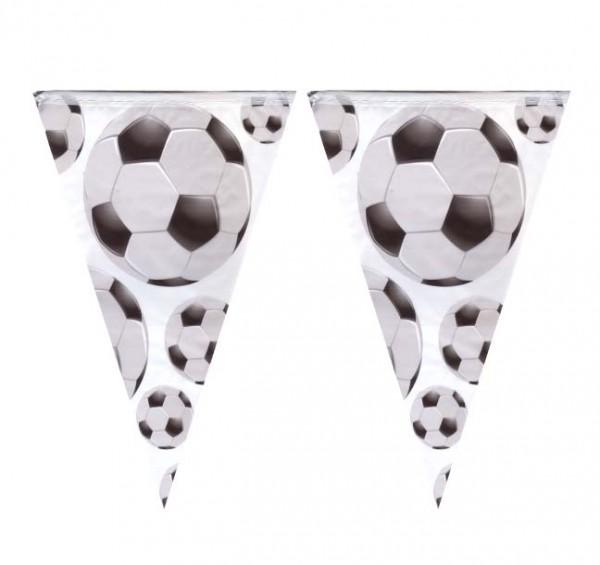 Wimpelkette Fußball 4m