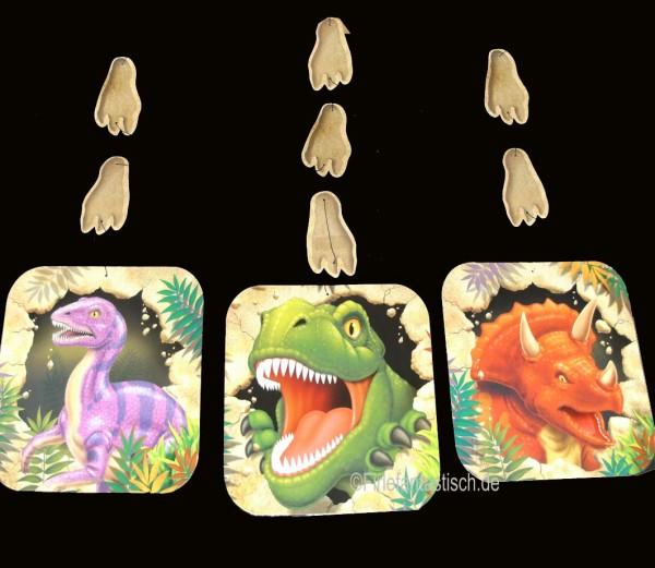 Dekoration für die Dino-Party