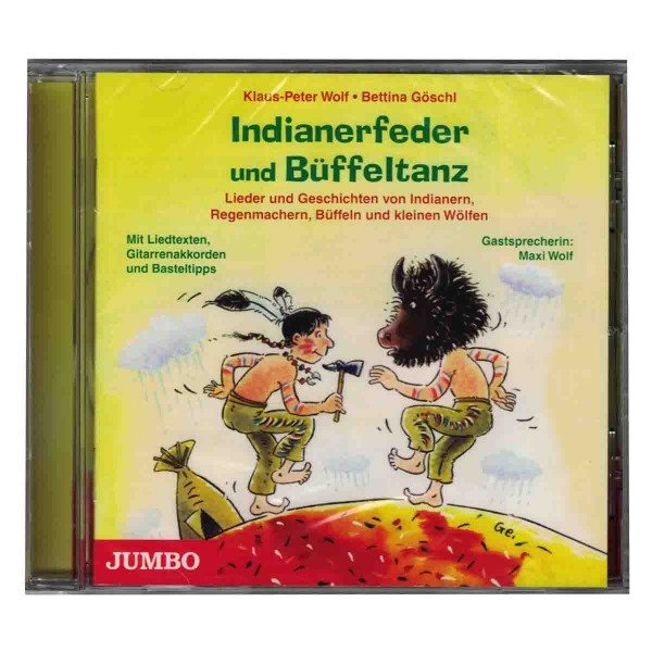 Indianer-Lieder und Geschichten CD