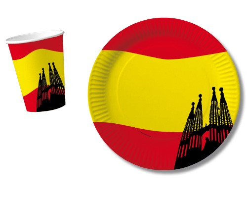Spanien-Becher 10St.