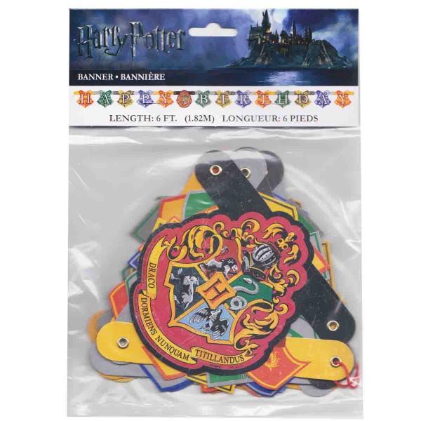 Buchstabengirlande für die Harry Potter Party