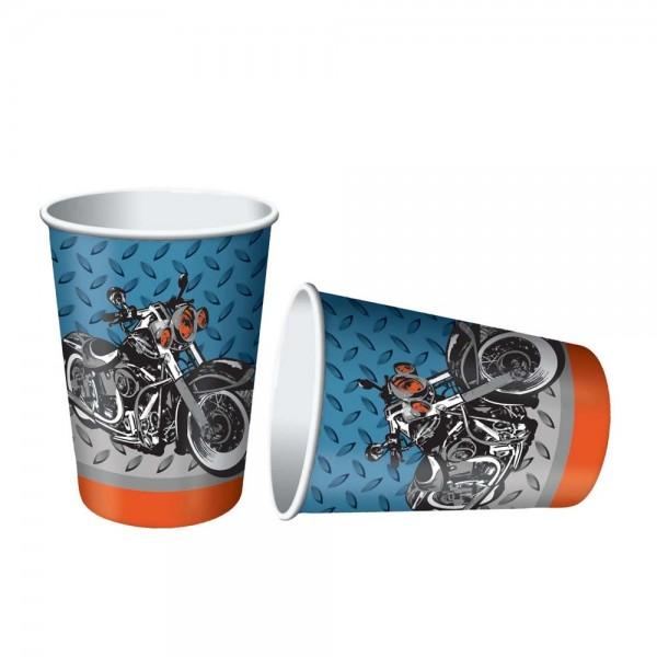 Coole Motorradbecher