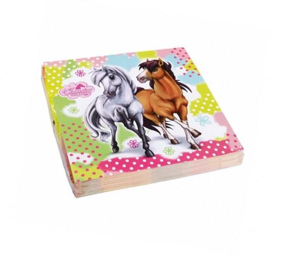 Charming Horses Servietten