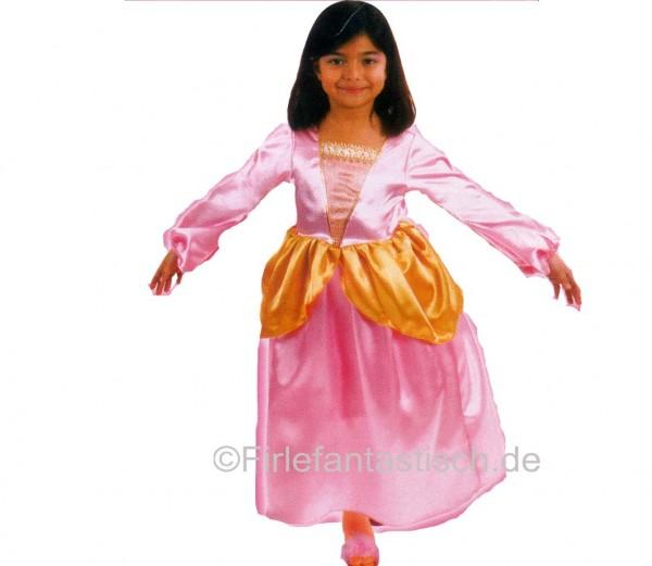 Prinzessinkleid rosa-gold Gr.128