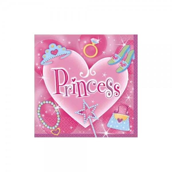 Zauberhafte Servietten für den Kindergeburtstag Prinzessin