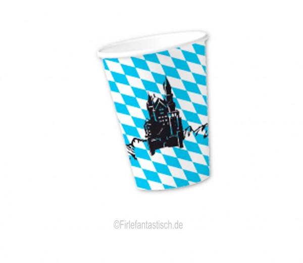 Bayern-Becher mit Silhouette