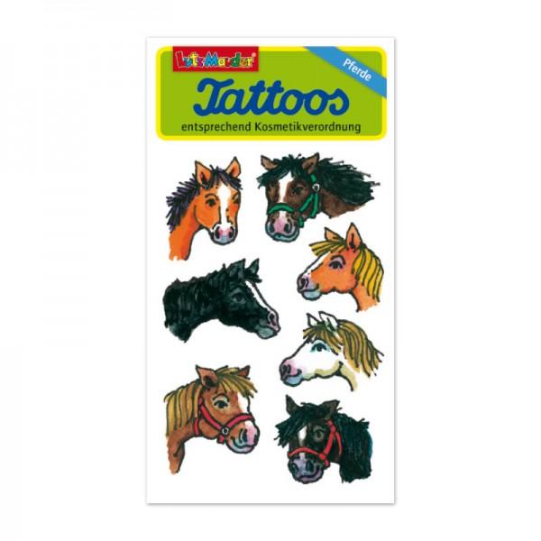 Tattoo-Pferdeköpfe