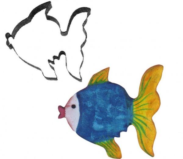 Keksausstecher Fisch