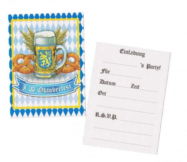 Oktoberfest Einladungskarten
