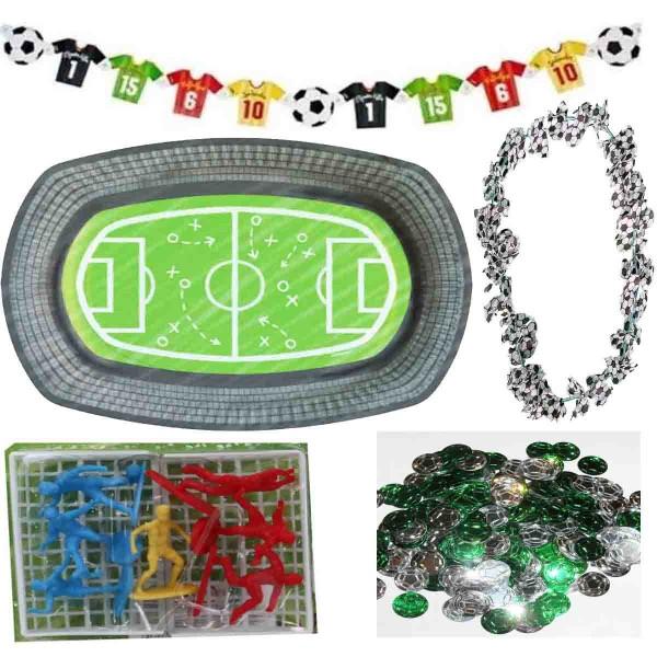 Fußball Deko-Set